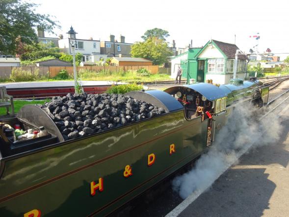 RHDR train